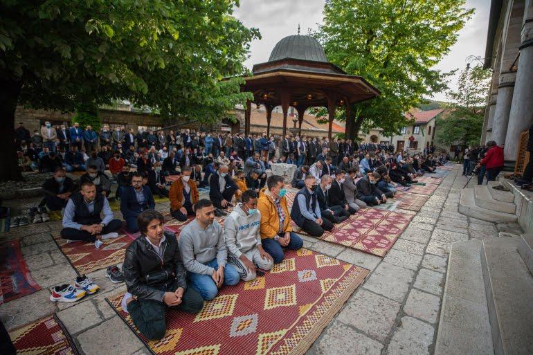 Muslimani obilježavaju Ramazanski bajram