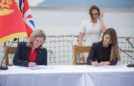 Potpisana dokumenta o partnerstvu između Ujedinjenog Kraljevstva i Crne Gore