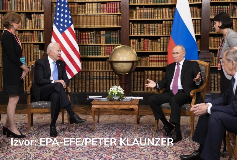 Završen samit u Ženevi - Bajden: Ton dobar i pozitivan - Putin: Razgovori prilično konstruktivni