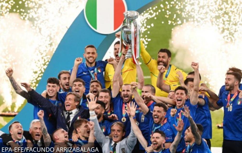 Italija je šampion Evrope !