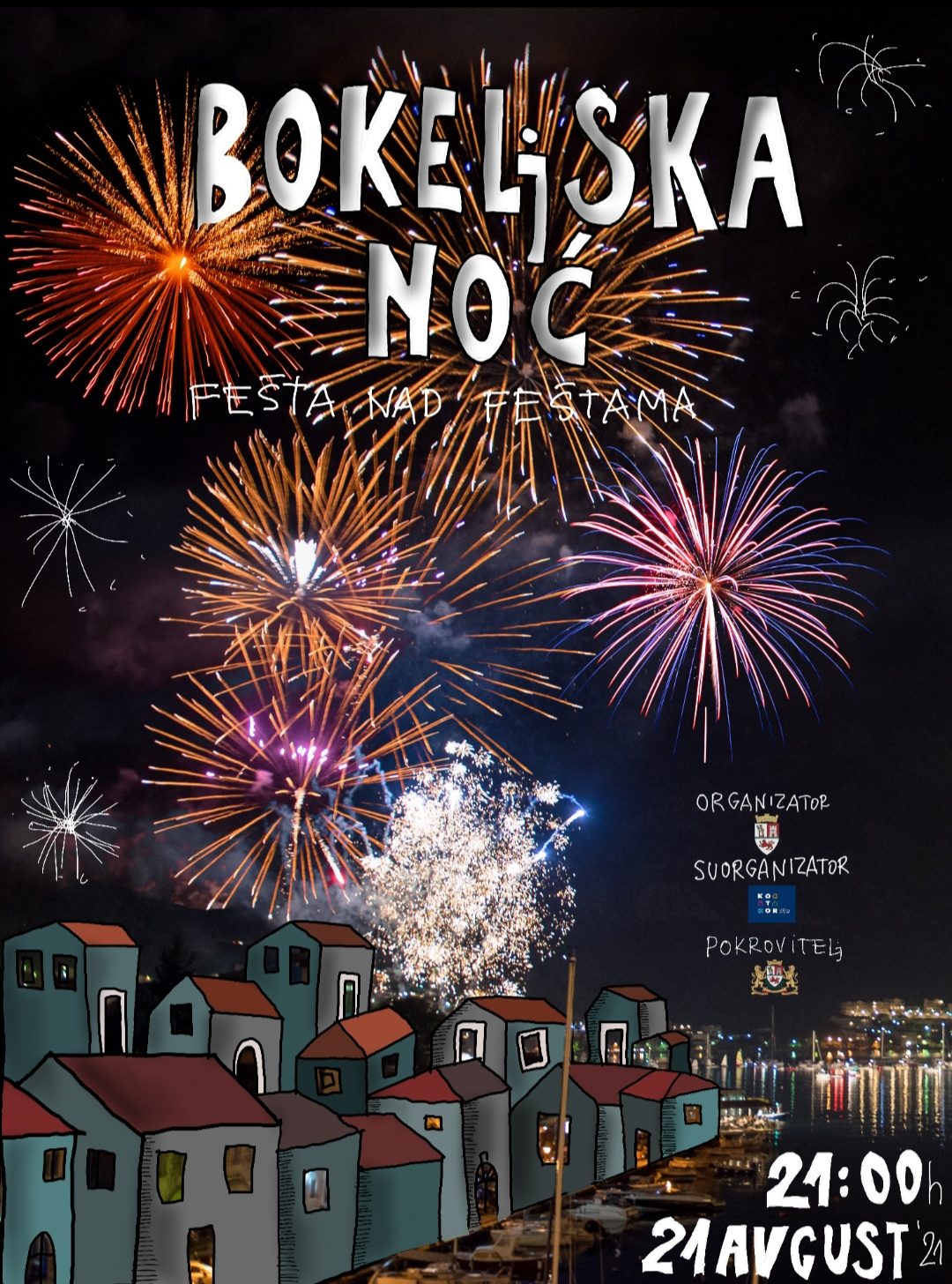 """Ove godine """"Bokeljska noć"""" online"""