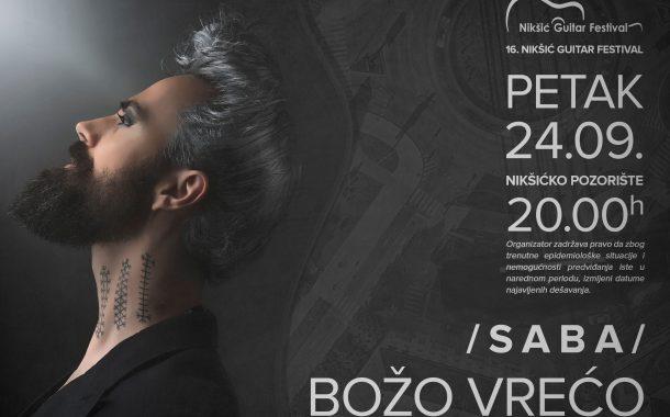 Legendarni brazilski gitarista, Božo Vrećo, Crnogorski simfonijski i drugi evropski umjetnici u Nikšiću