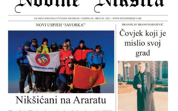 Iz štampe izašao novi broj Novina Nikšića
